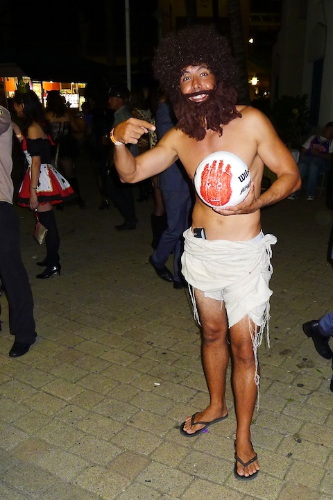 thereafterish, Aloha Tower Halloween Party, Castaway Costume