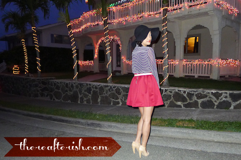 thereafterish, ootd, oxblood, oxblood skirt, Asian Street Style Fashion