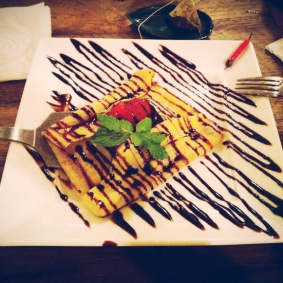 thereafterish, food, Yuzu Ala Moana, Hawaii Living, Nutella Crepe