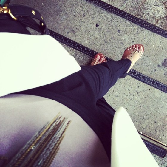 thereafterish, ootd, what I wore, instastyle, studs, bunhead, style