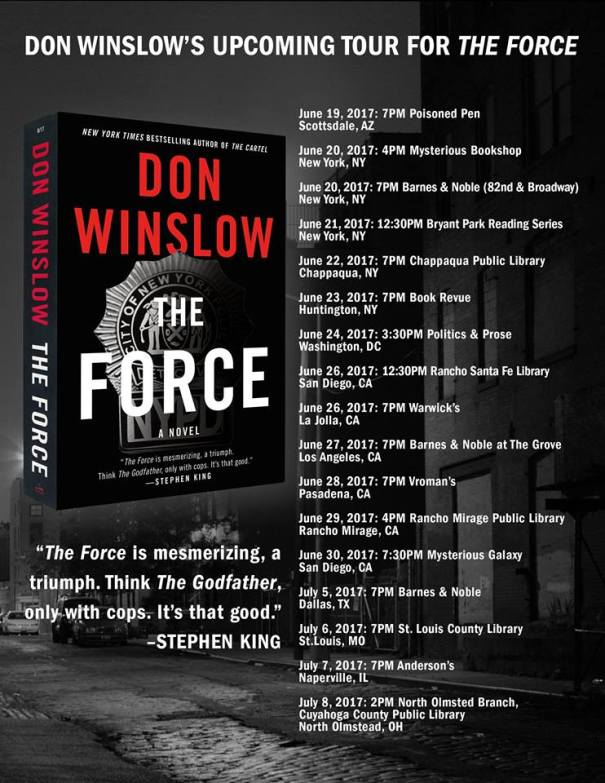 The Force Book tour
