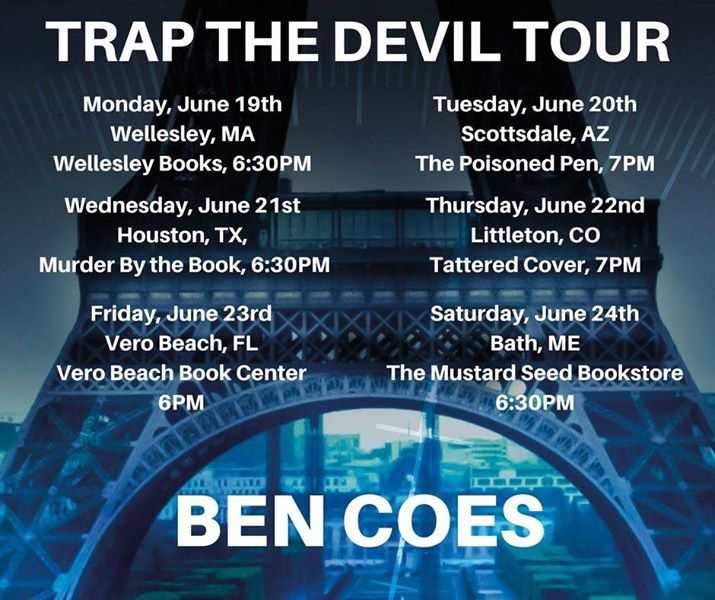 Trap The Devil Book Tour