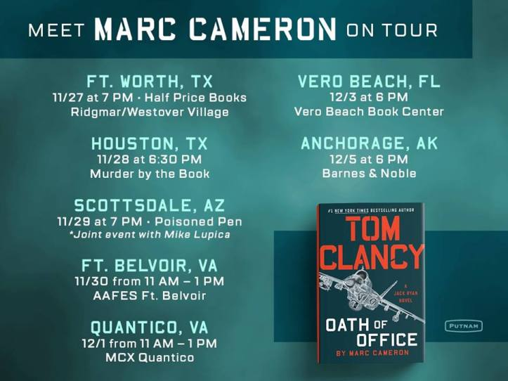 Marc Cameron Book tour Oath of Office.jpg
