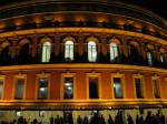 Albert Hall lit up