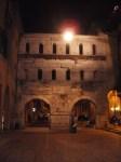 old gate near Piazza Bra