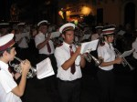 Marching band at St Julian's Festa