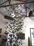 Cluster bomb display