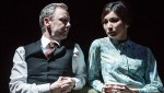John Simm and Gemma Chan
