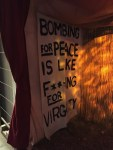 Bombing for Peace