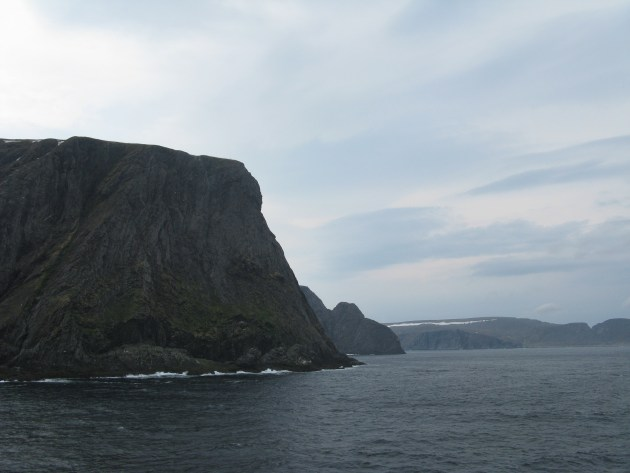 On the way to the North Cape