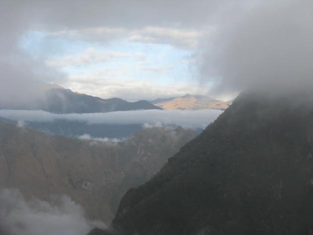 Dawn at Machu Picchu