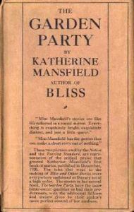 Katherine Mansfield TheGardenParty