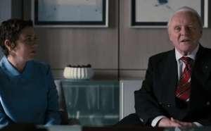 Anthony Hopkins and Olivia Colman