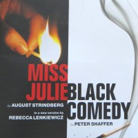 Review – Miss Julie / Black Comedy, Minerva Theatre, Chichester, 2nd August 2014