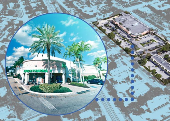 Publix-Anchored Shopping Center Delray Beach Sells For M
