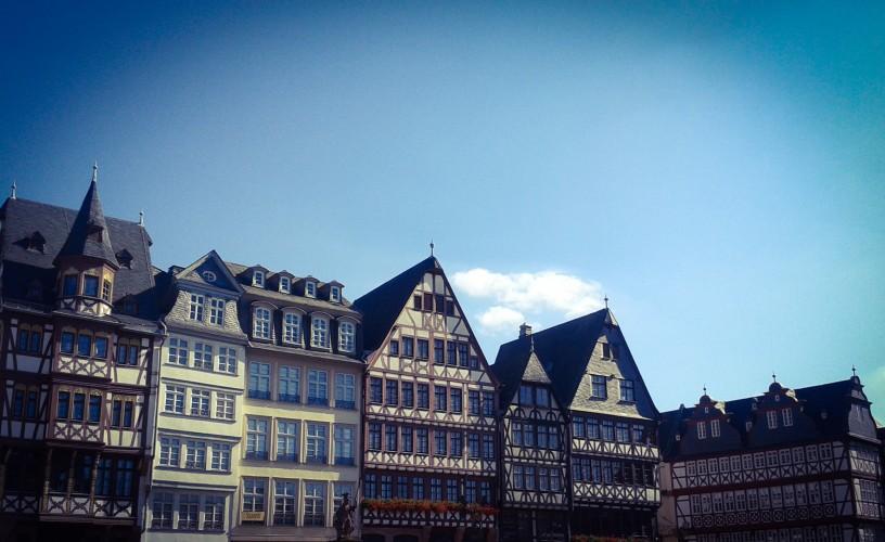 The Römerberg plaza