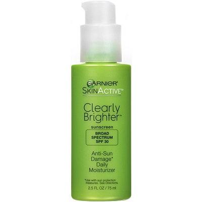 Garnier Clearly Brighter Anti-Sun Damage Daily Moisturiser