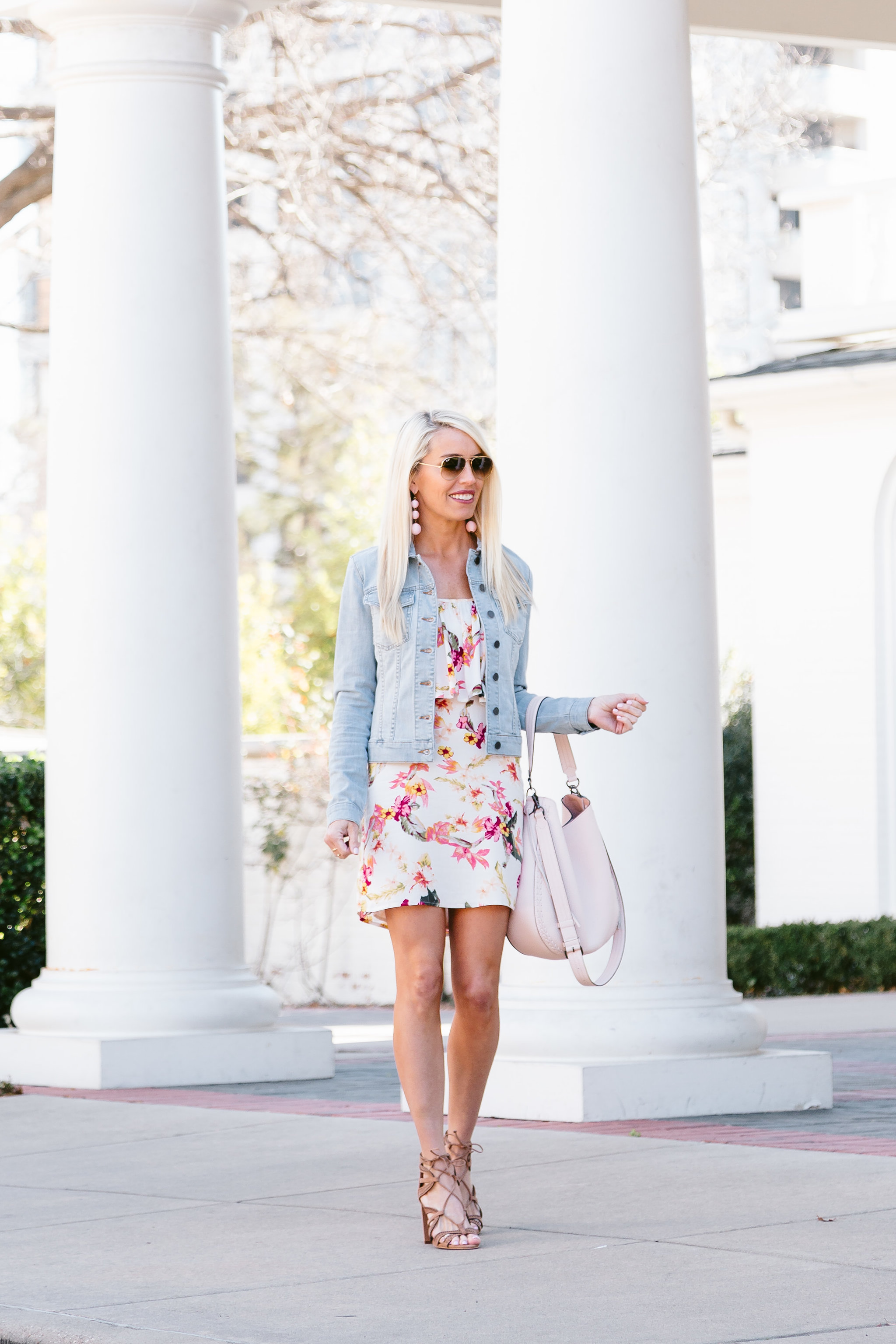 64de3529f4 3 ways to wear these lace-up sandals and denim jacket and look stylish