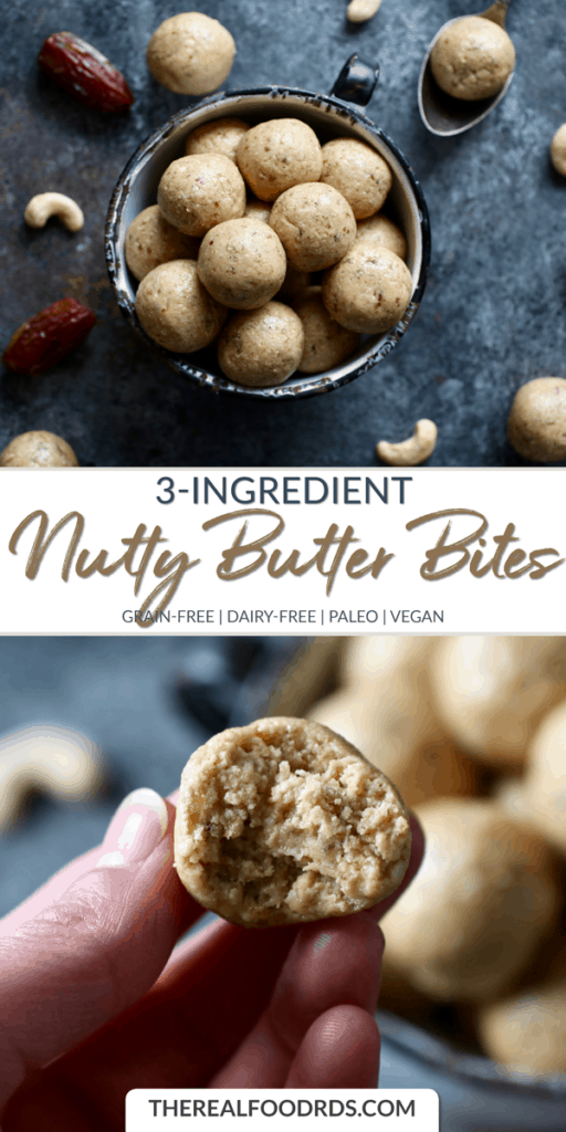 Long Pin Image for 3-Ingredient Nutty Butter Bites