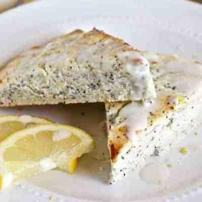 Grain-free Lemon Poppy Seed Scones