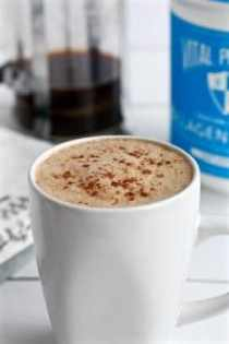 Gut-healing Coconut Cinnamon Latte