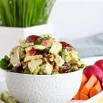 Avocado Chicken Waldorf Salad