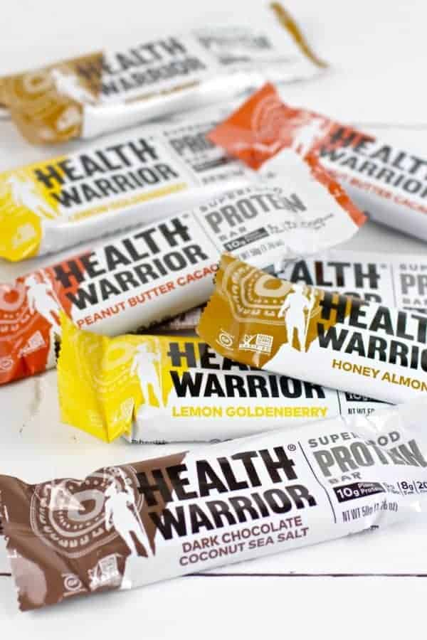 Healthiest Protein Bars | Health Warrior Superfood Protein Bar