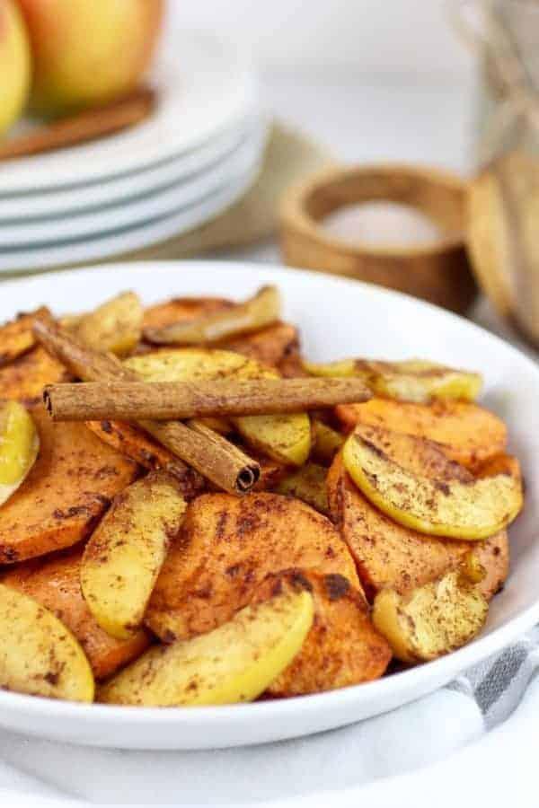 Cinnamon Sweet Potato Apple Bake