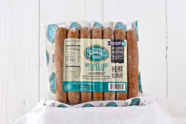 Pederson's Natural Farms Hotdogs