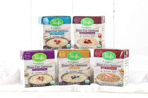 Pacific Organic Steel Cut Oatmeal