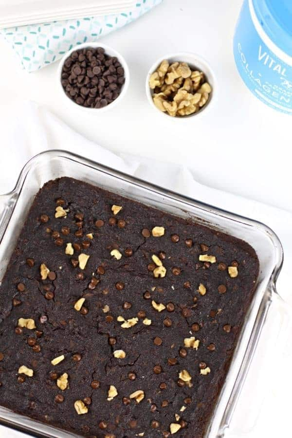 Grain-free Sweet Potato Brownies