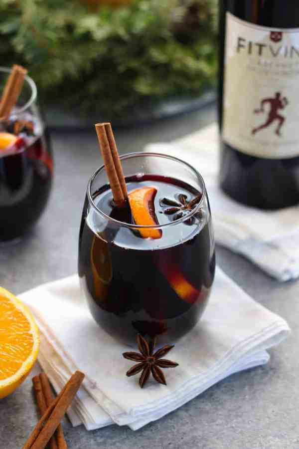 Slow Cooker Mulled Wine | Low-sugar | The Real Food Dietitians | https://therealfoodrds.com/slow-cooker-mulled-wine/