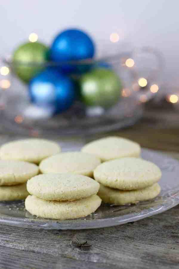 Gluten-free Lemon Shortbread Cookies | Egg-free + Nut-free | The Real Food Dietitians | https://therealfoodrds.com/gluten-free-lemon-shortbread-cookies/