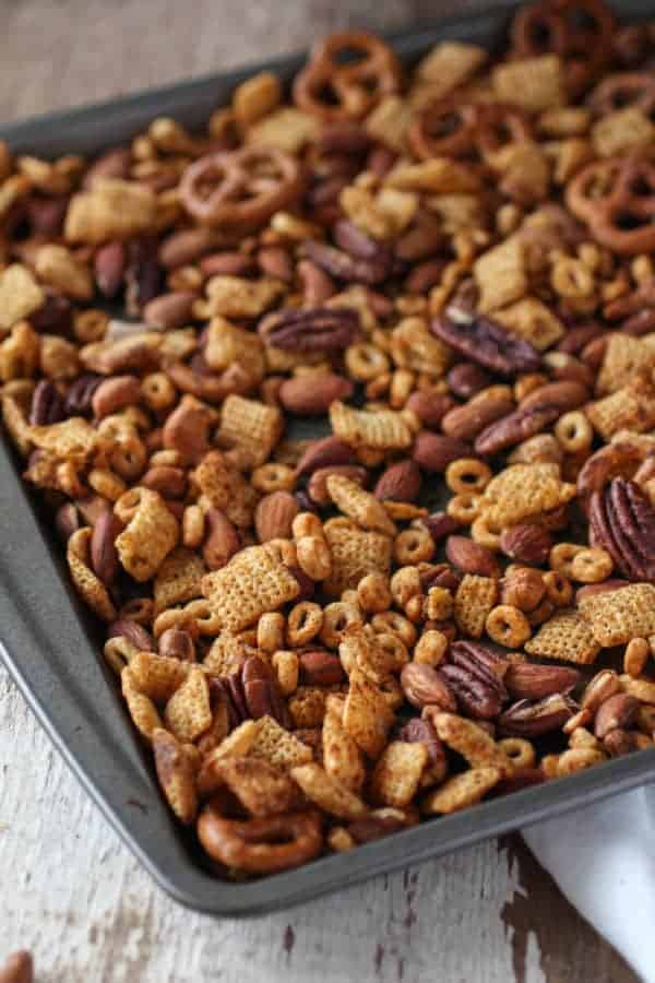 Gluten-free Buffalo Ranch Snack Mix