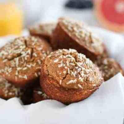 Grain-free Banana Coconut Muffins