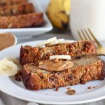 Salted Peanut Chocolate Banana Bread (Grain-free)