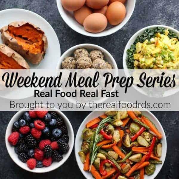 Weekend Meal Prep Series