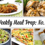 Weekly Meal Prep Menu: No. 4