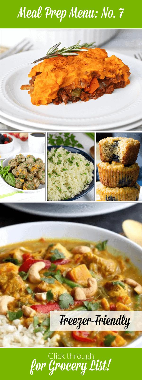 Weekly Meal Prep Menu: No. 7 | The Real Food Dietitians | https://therealfoodrds.com/weekly-meal-prep-menu-no-7/
