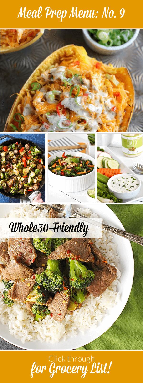 Weekly Meal Prep Menu: No. 9 | The Real Food Dietitians | http://therealfoodrds.com/weekly-meal-prep-menu-no-9/