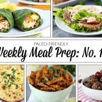 Weekly Meal Prep Menu: No. 10