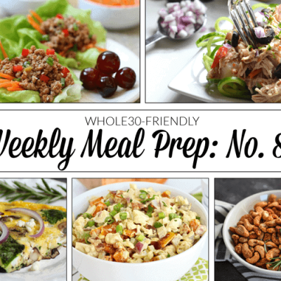 Weekly Meal Prep Menu: No. 8