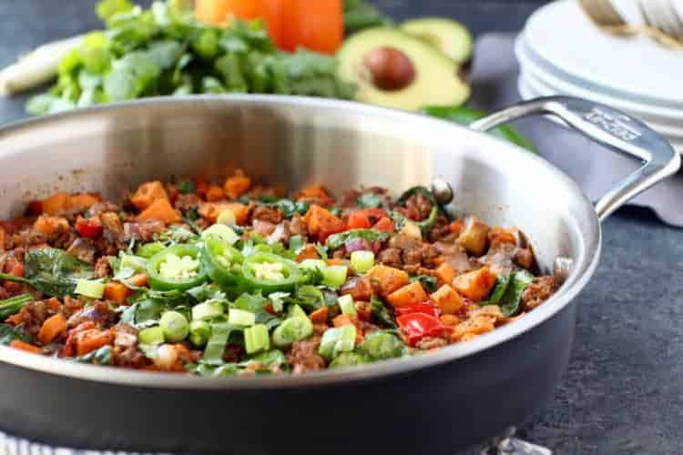 Tex Mex Sweet Potato Hash