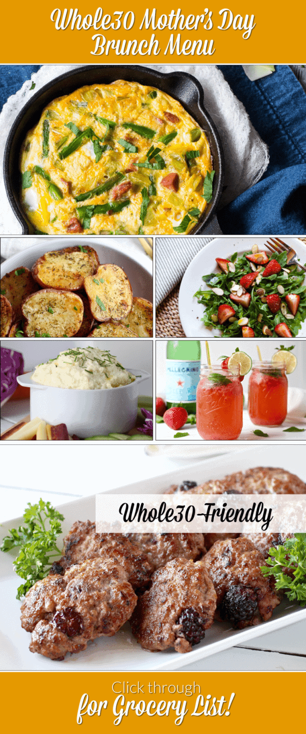 Whole30 Mother's Day Brunch Menu | The Real Food Dietitians | http://therealfoodrds.com/whole30-mothers-day-brunch-menu/