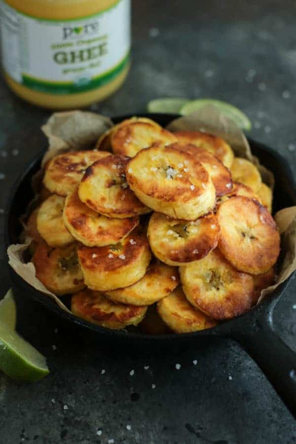Fried Plantains (Whole30) | The Real Food Dietitians | https://therealfoodrds.com/fried-plantains-whole30/