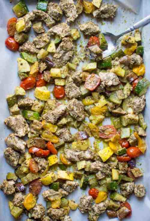 Thirty Whole30 Sheet Pan Recipes | The Real Food Dietitians
