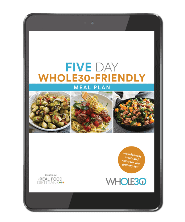 http://therealfoodrds.com/5-day-whole30-friendly-meal-plan/