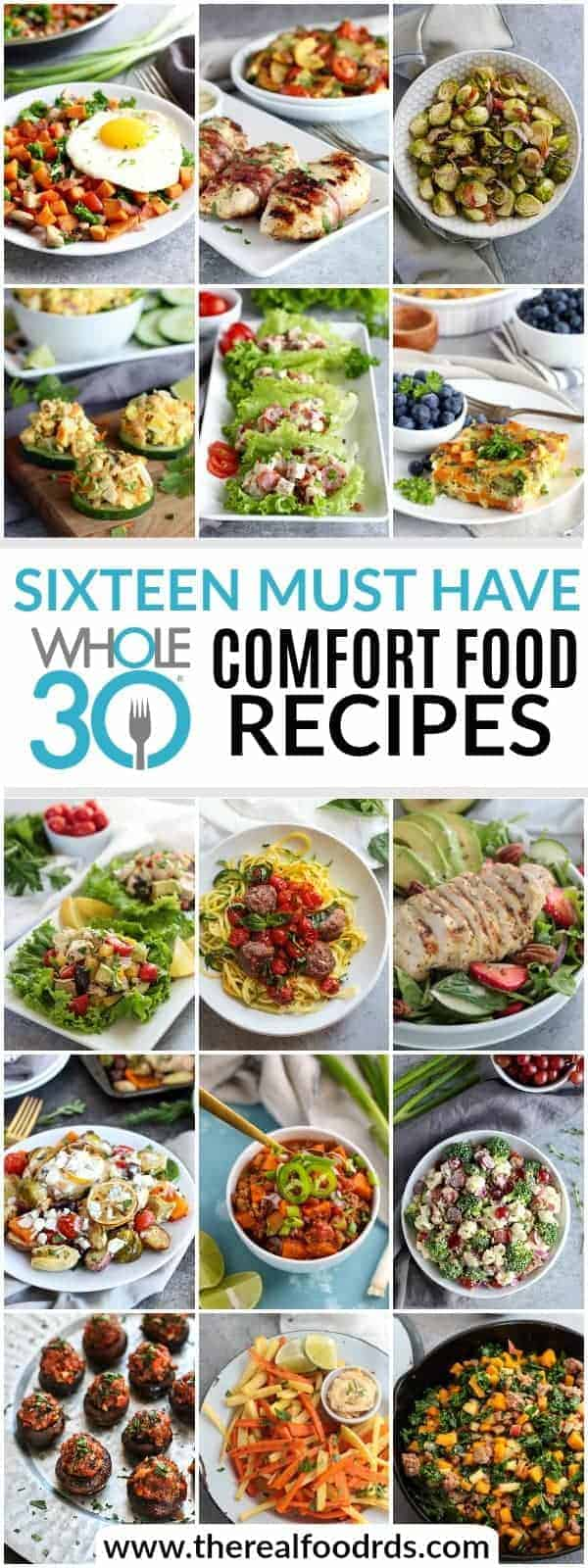 Free eBook! 16 Must-Have Whole30 Comfort Food Recipes