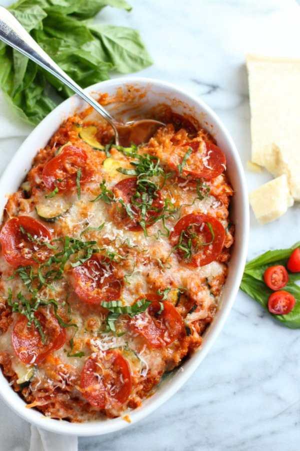 Photo of Pepperoni Pizza Quinoa Bake - 9 Healthy Quinoa Recipes