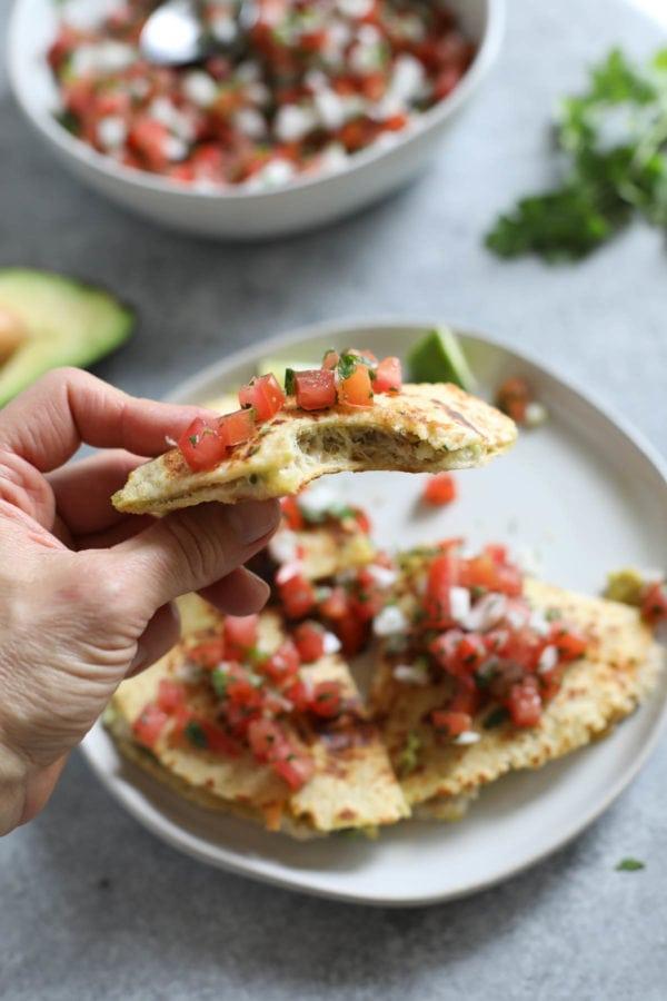 Tuna Melt Quesadillas Ready to Eat